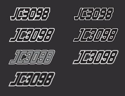2017 Polaris Switchback 800 Adventure - Sled Numbers