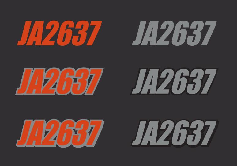2016 Skidoo Renegade Adrenaline 900 ACE - Sled Numbers