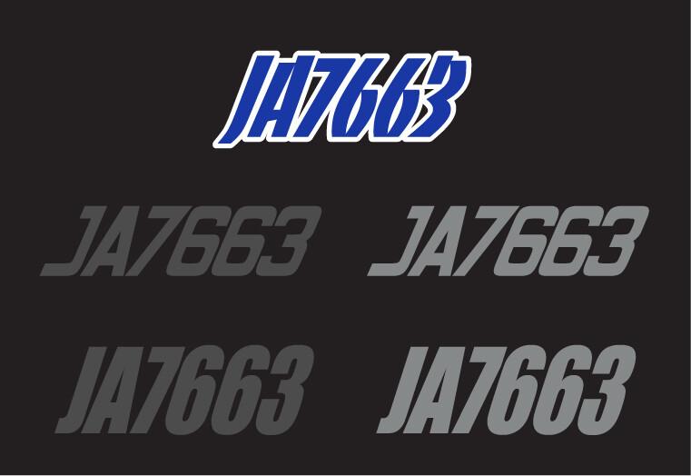 2016 Skidoo MXZ X 800R - Sled Numbers