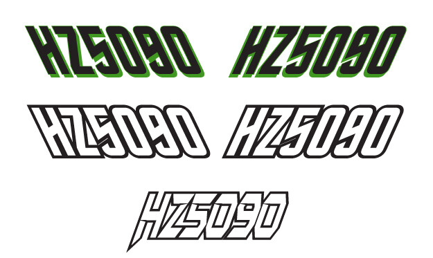 2015 Arctic Cat ZR 6000 Sno Pro - Sled Numbers