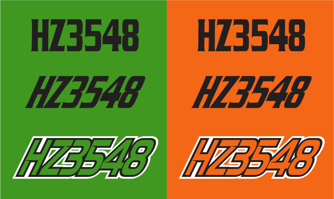 2015 Arctic Cat XF 8000 Cross Country - Sled Numbers