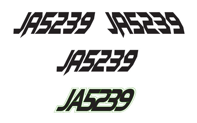 2015 Arctic Cat ZR 8000 LXR - Sled Numbers