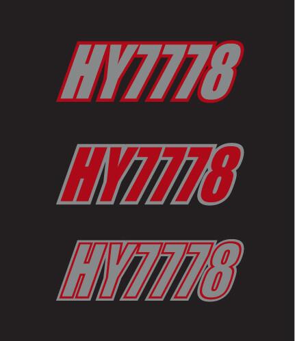 2015 Skidoo MXZ 800 X - Sled Numbers