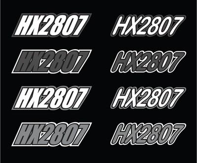 2014 Skidoo MXZ Renegade X - Sled Numbers