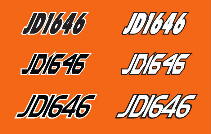 2014 Arctic Cat XF Crosstour 8000 - Sled Numbers