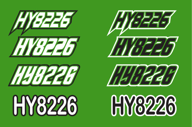 2014 Arctic Cat ZR 6000 - Sled Numbers