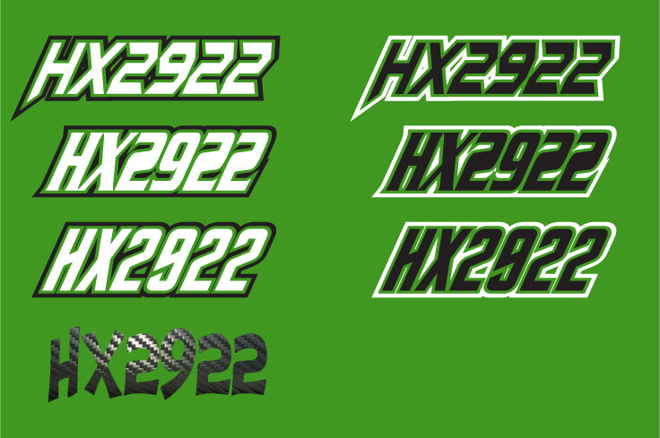 2014 Arctic Cat M8000 Sno Pro - Sled Numbers