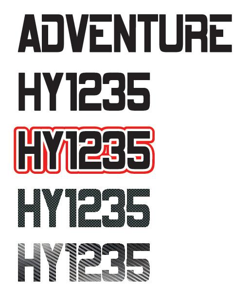 2014 Polaris Adventure 600 - Sled Numbers