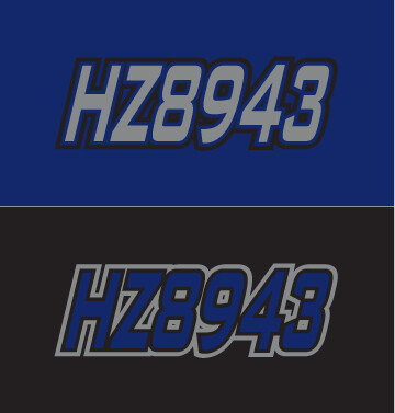 2014 Yamaha Venture RS - Sled Numbers