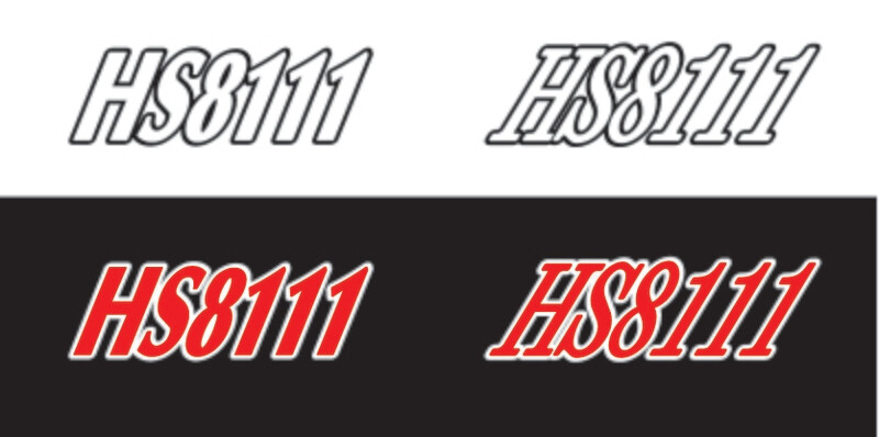2014 Polaris Shift TX Graphics Package - Sled Numbers