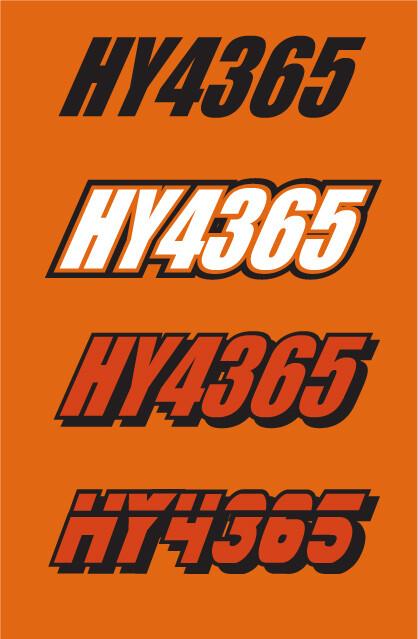 2014 Skidoo MXZ 800R - Sled Numbers