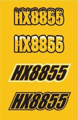 2014 Skidoo MXZ TNT - Sled Numbers