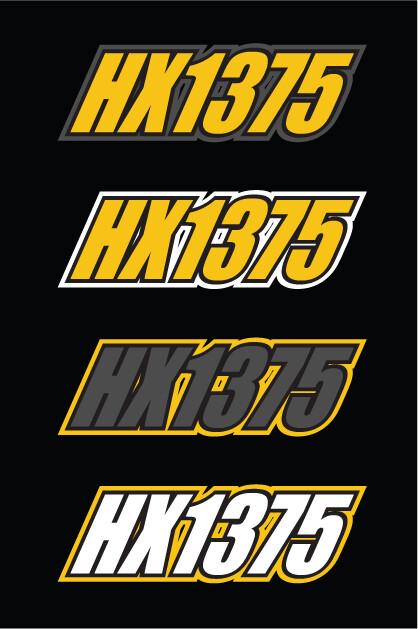 2013 Skidoo MXZ TNT E-TEC - Sled Numbers