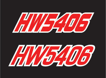 2012 Polaris RMK 800 - Sled Numbers