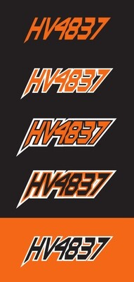 2012 Arctic Cat F8 - Sled Numbers