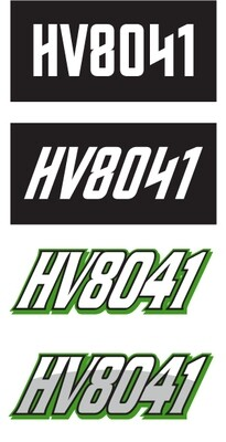 2012 Arctic Cat XF - Sled Numbers