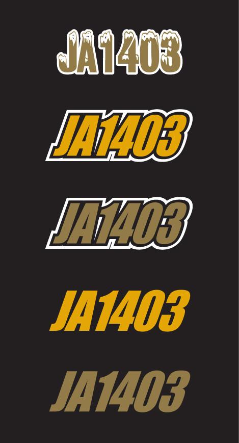 2012 Skidoo MXZ XRS 800 - Sled Numbers