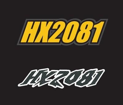 2009 Skidoo MXZ - Sled Numbers