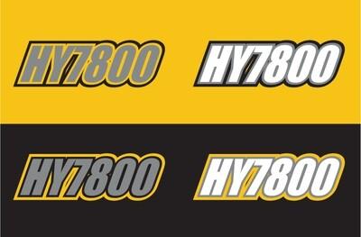 2009 Skidoo Renegade 600 ETEC - Sled Numbers