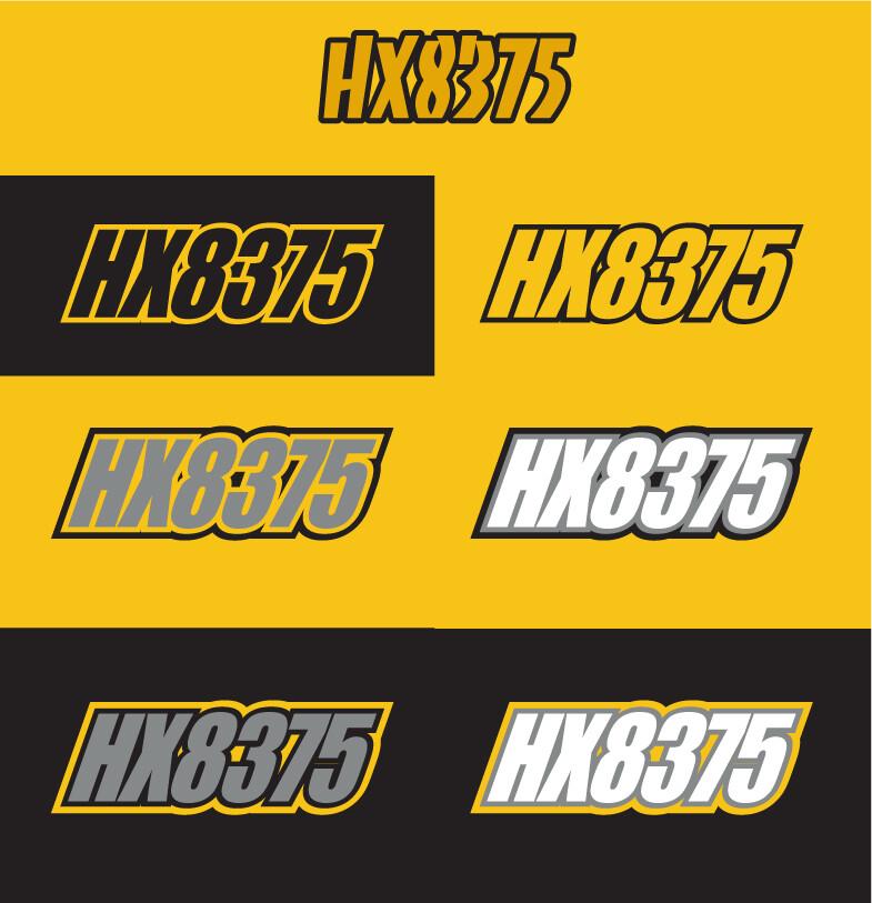 2008 Skidoo MXZ 500SS - Sled Numbers