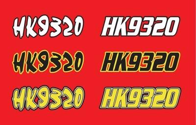 2002 Polaris 600 Edge XC SP - Sled Numbers