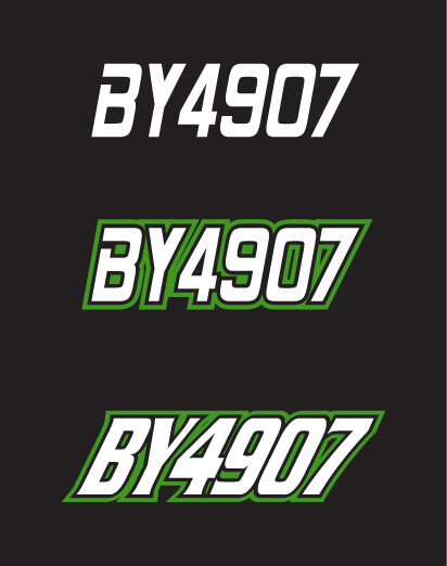 1994 Arctic Cat EXT 580 - Sled Numbers