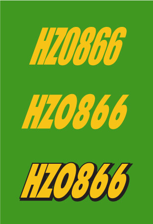 2004 Arctic Cat F6 - Sled Numbers