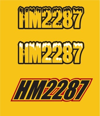 2005 Ski Doo MXZ Adrenaline - Sled Numbers