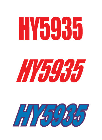 1994 Polaris XCR 600 - Sled Numbers