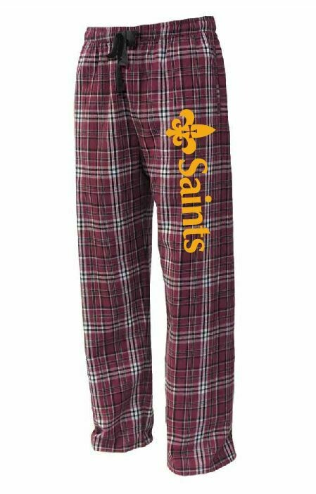 St. James Saints Flannel Lounge Pants - Adult / Youth