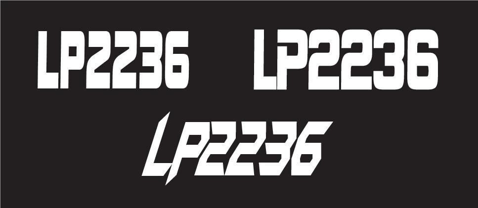 2021 Polaris VR1 850 - Sled Numbers