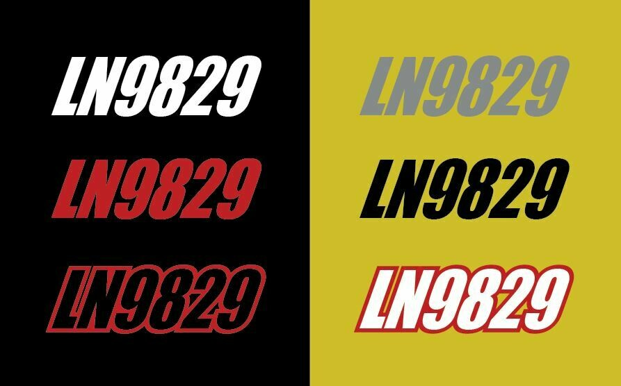 2021 Skidoo Renegade X-RS 850 - Sled Numbers
