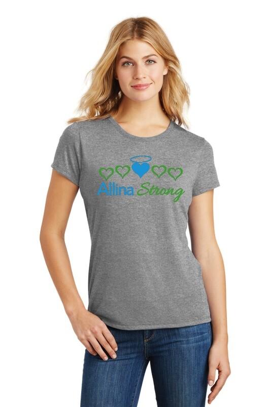 Allina Strong Ring Spun Women's Soft T-Shirt #ALLINASTRONG