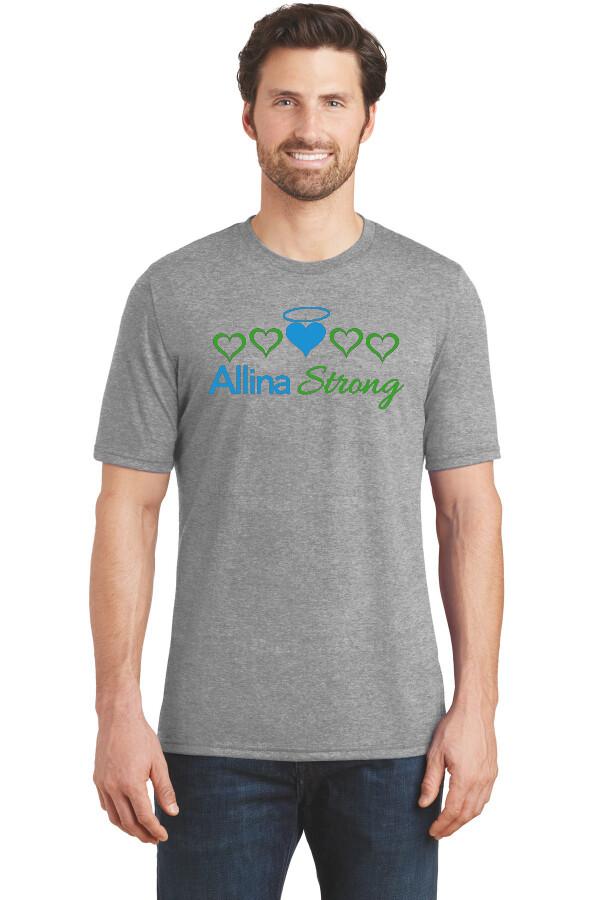 Allina Strong Ring Spun Soft T-Shirt #ALLINASTRONG