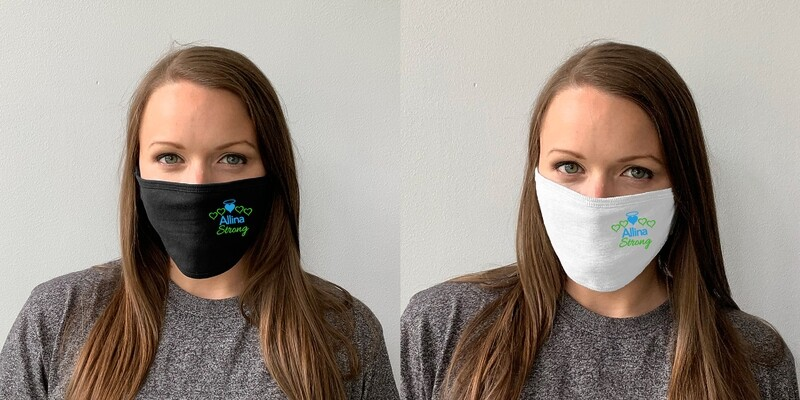 Allina Strong Face Mask Adult & Youth Reusable - Cloth Face Covering #ALLINASTRONG