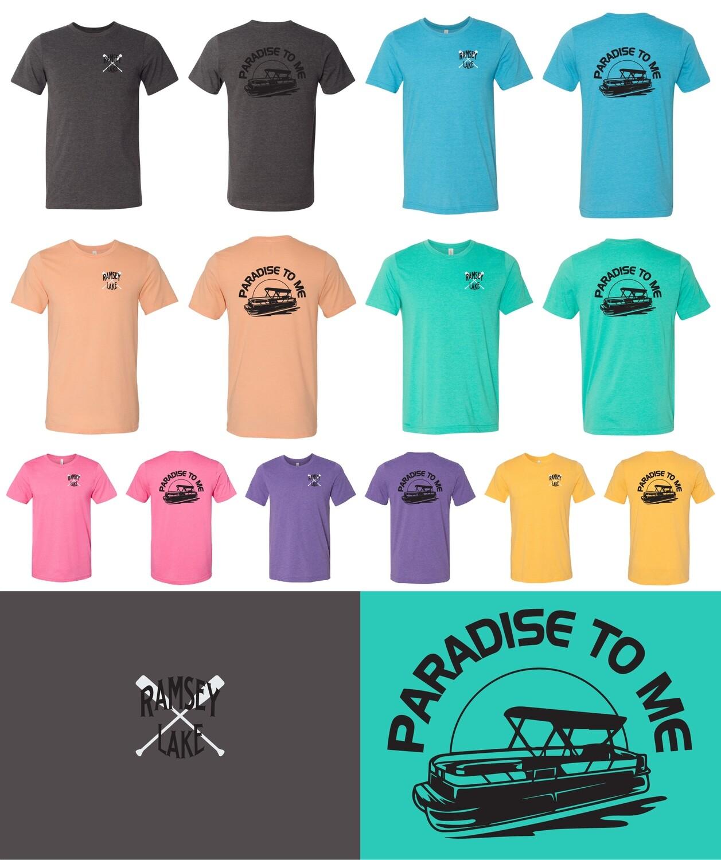 Ramsey Lake Bella Canvas Jersey T-Shirt