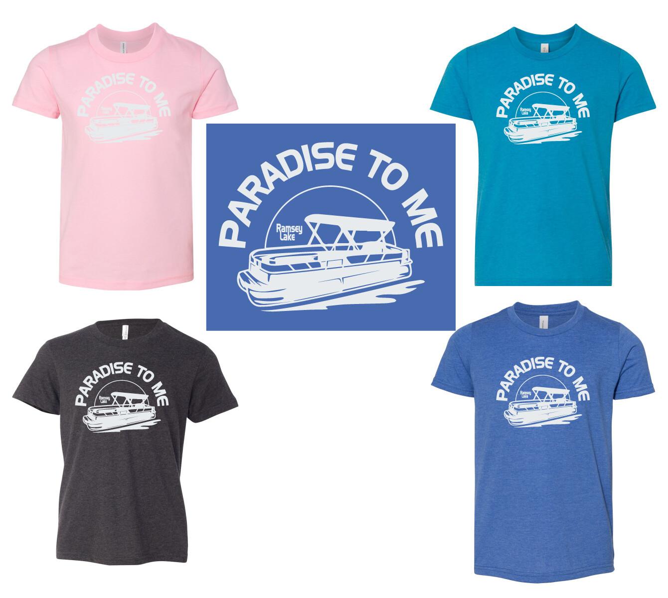 Ramsey Lake Bella Canvas Youth Jersey T-Shirt