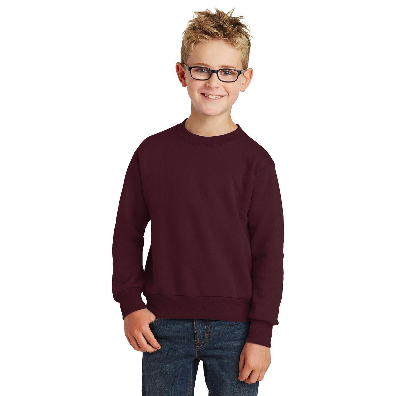 St. James Saints Heavy Blend Crewneck Sweatshirt - Youth