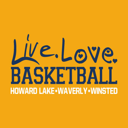 HLWW Live Love Basketball CHOOSE YOUR SHIRT!
