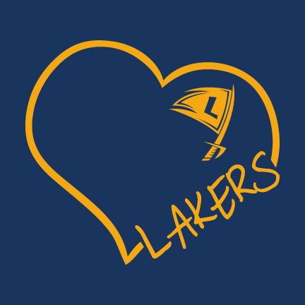 """HLWW """"Heart"""" Lakers CHOOSE YOUR SHIRT!"""