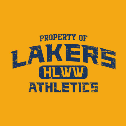 Property Of HLWW Lakers Athletics CHOOSE YOUR SHIRT!