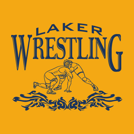 Wrestling Laker CHOOSE YOUR SHIRT!