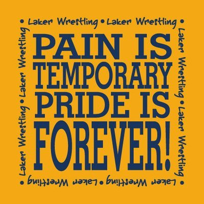 Wrestling Pride Is Forever CHOOSE YOUR SHIRT!