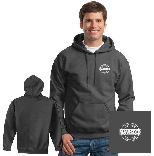 MAWSECO Gildan Hooded Sweatshirt - Dark Heather