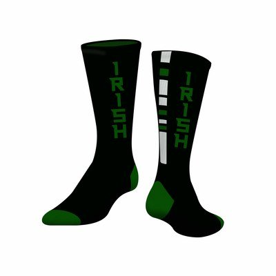 Maple Lake Irish Performance Crew Socks (Pair) CHOOSE YOUR SIZE!