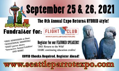 Seattle Parrot Expo Free Bird Registration