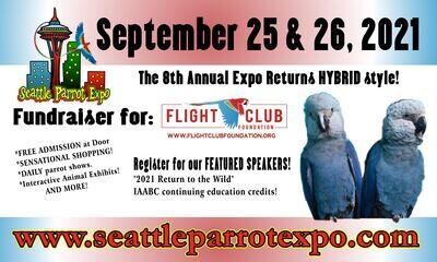 Seattle Parrot Expo Good Bird Registration