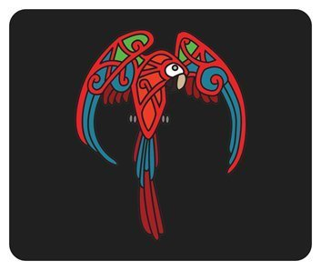 Celtic Macaw Mousepad