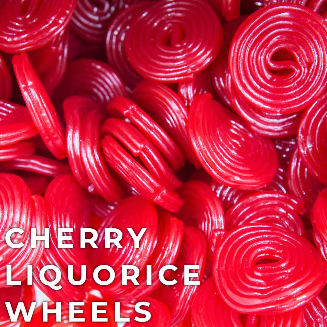 Liquorice Wheels - Cherry
