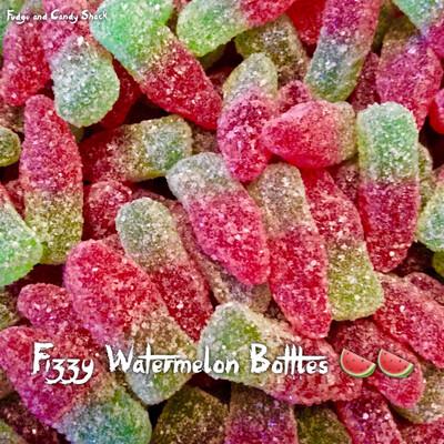 Fizzy Watermelon Bottles